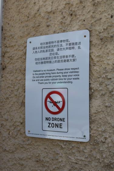Altstadt von Hallstatt_No drone zone