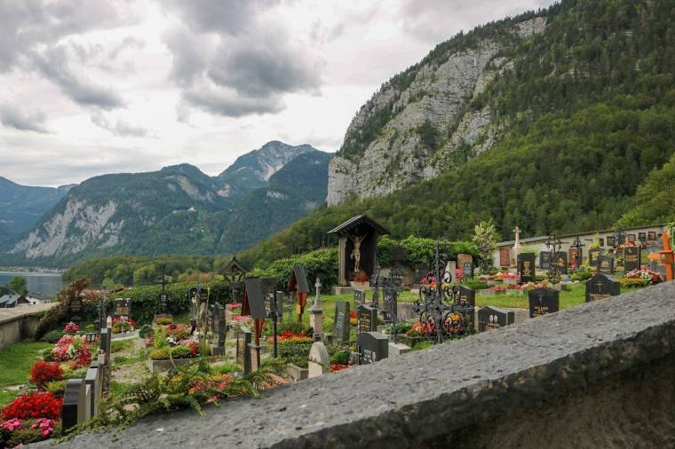 Friedhof Obertraun Ausgangspunkt Wanderung zur Sarsteinhütte