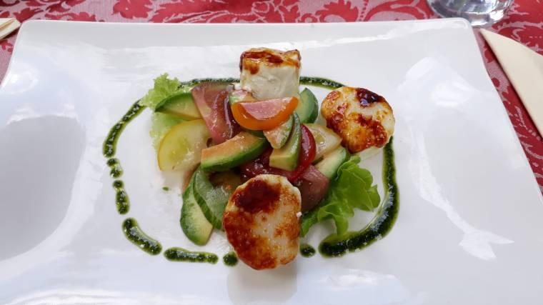 Gasthaus Koppenrast in Obertraun_vegetarischer Salat