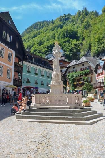 Hauptplatz Hallstatt Altstadt