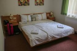 Schlafzimmer Apartmenthouse Seerose Obertraun