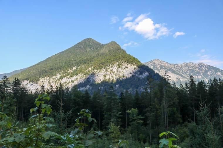 Wandern in Obertraun_Koppenwinkel_Ausblick auf die Berge