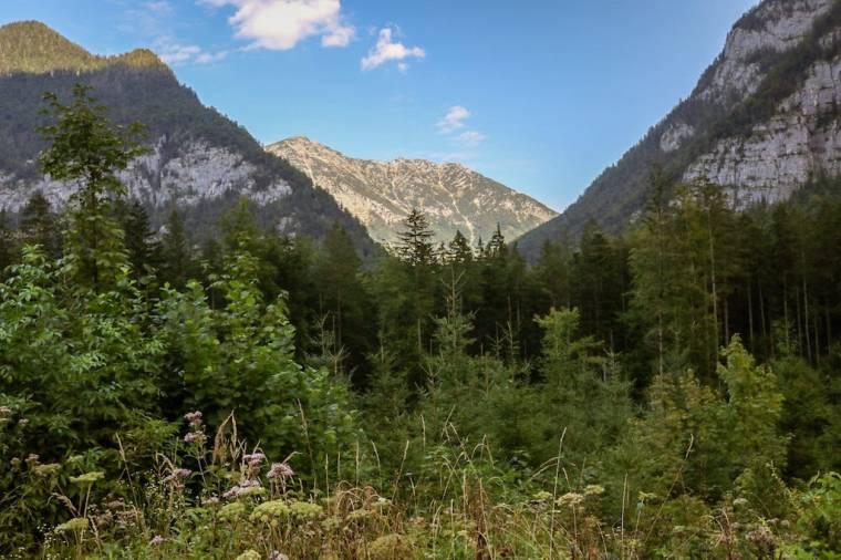 Wandern in Obertraun_Koppenwinkel_Bergkulisse