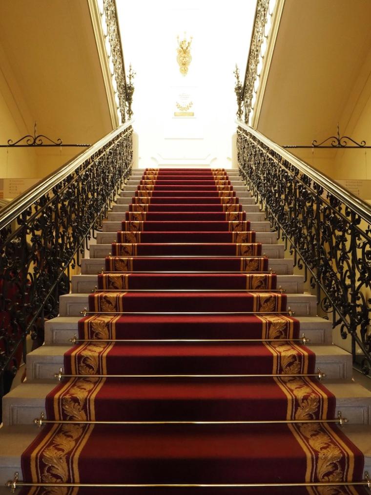 Treppenaufgang im Billrothhaus