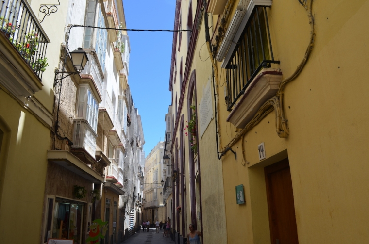Andalusien Cádiz Gassen