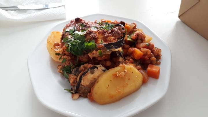 Restauranttipps Wien für VegetarierInnen und VeganerInnen_Salon Wichtig_vegetarisches Moussaka