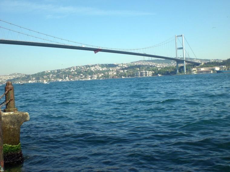 Bosporus-Brücke in Istanbul