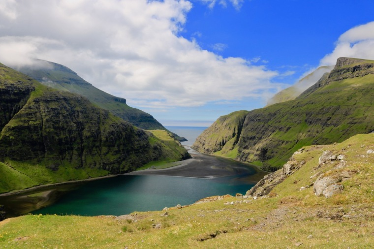 Saksun_Färöer-Inseln