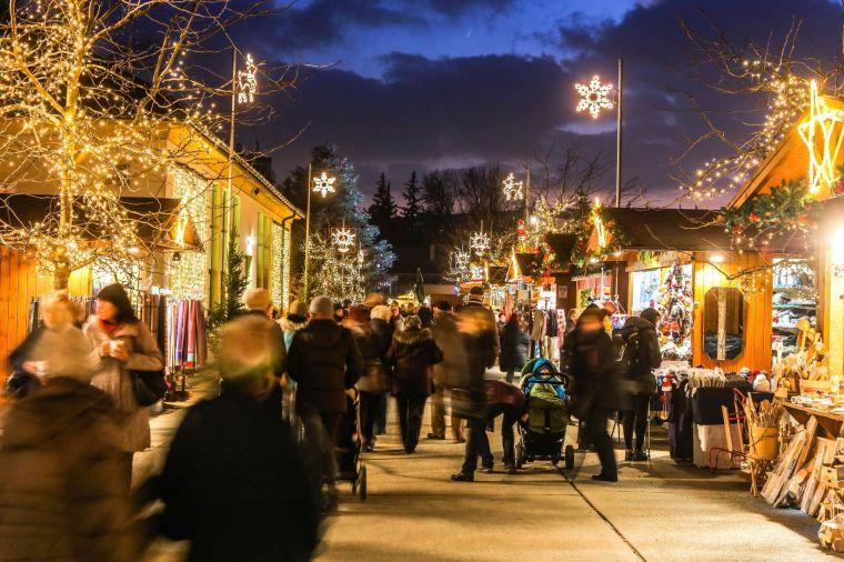 Ausflugstipp: Adventmarkt in den Blumengärten Hirschstetten
