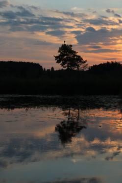 Elbsee Sonnenuntergang