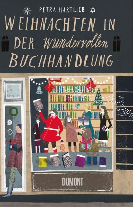 Buchcover_Weihnachten in der wundervollen Buchhandlung_Hartlieb
