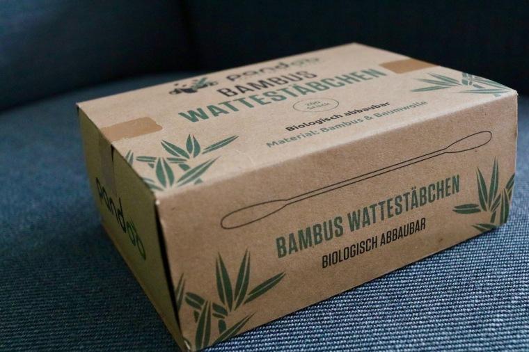 pandoo Wattestäbchen Alternative zu Plastik