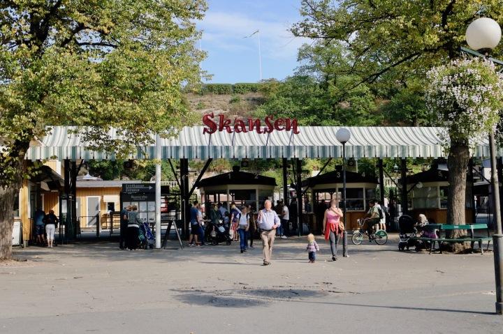 Freilichtmuseum Skansen in Stockholm