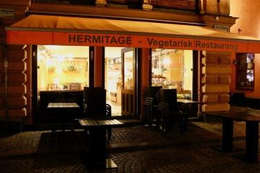 Hermitage - vegetarisches Restaurant mitten in der Altstadt