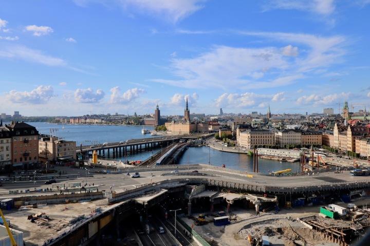 Kostenloser Ausblick vom Gondolen auf Stockholm