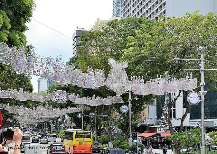 Singapur zur Weihnachtszeit_Tipp_die Orchard Road