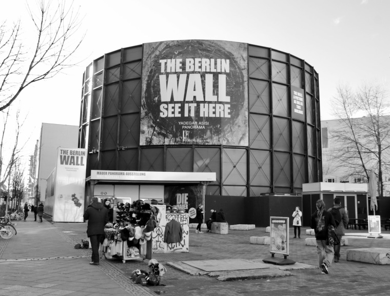 The Wall Museum Asisi Panorama Berlin