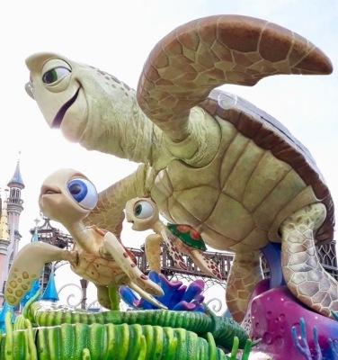 Disney-Parade_Findet Nemo