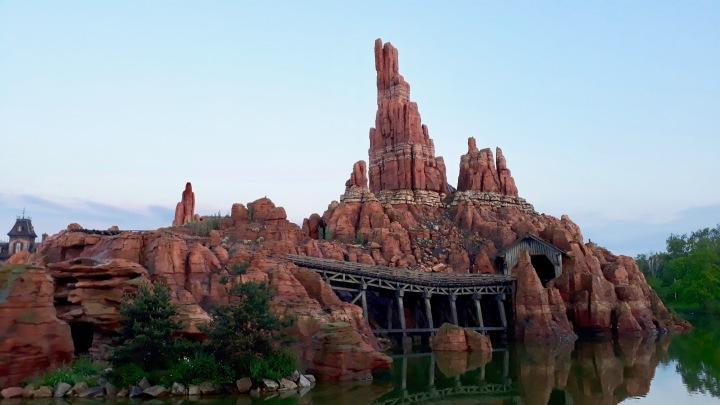 Disneyland Paris Big Thunder Mountain