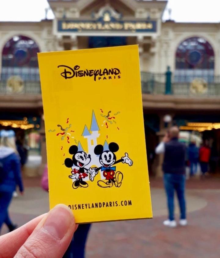 Disneyland Paris Eintrittskarte