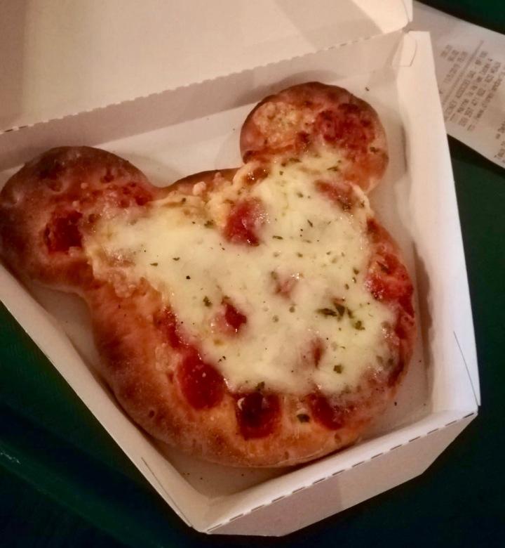 Disneyland Paris_vegetarisch Essen_Micky Mouse Pizza