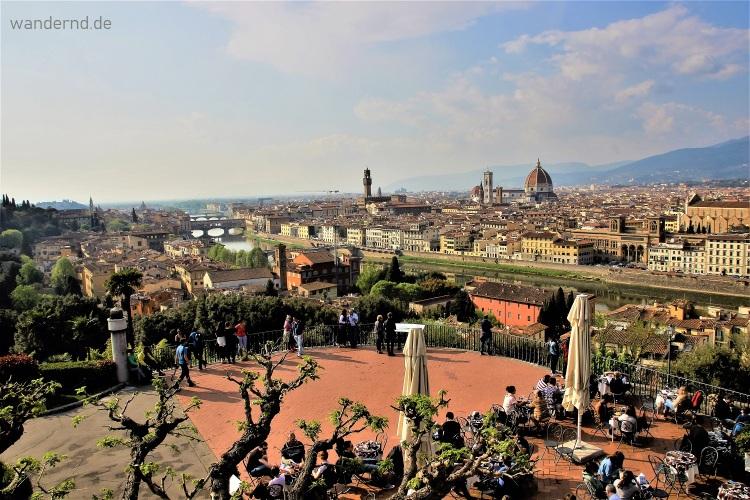 Ausblick Piazzale Michelangelo