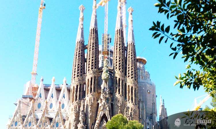 Barcelona Sehenswürdigkeiten Sagrada Família