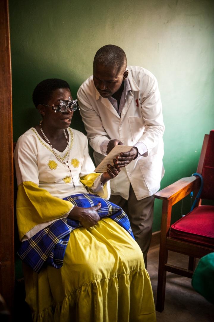 Bbanga Project Hiflprojekt Afrika Gesundheitschecks