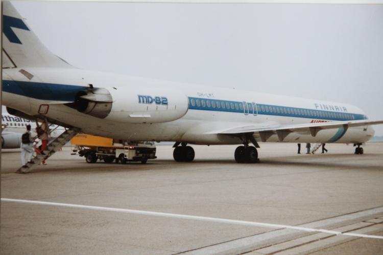 Mein erster Flug Finnair 1992