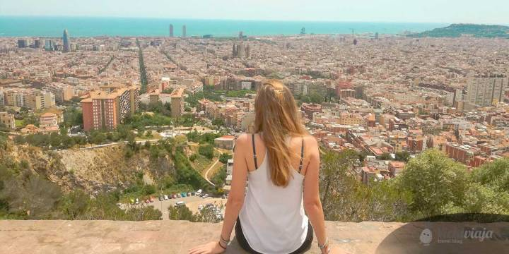 Städtetrip Barcelona Aussicht