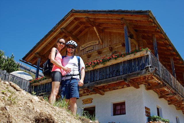Südtirol Ausflugstipps Aktivurlaub E-Bike-Tour Gönneralm