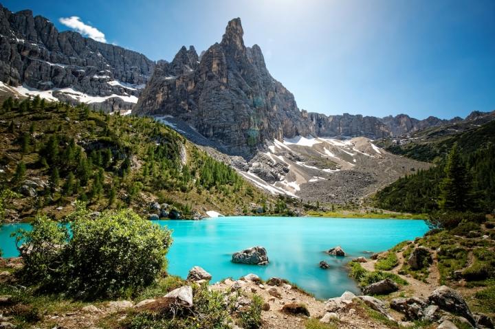 Südtirol Dolomitenregion Ausflugstipp Wanderung zum Lago di Sorapis