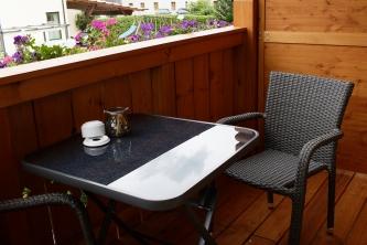Unterkunftstipp am Fuschlsee_Frühstückspension Haslgut_Balkon
