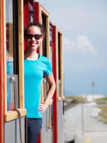 Fahrt mit der Schafbergbahn