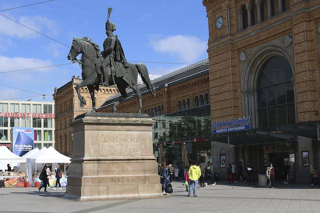 Hannover Insidertipps Reiterstatue