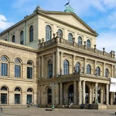 Das Opernhaus von Hannover