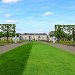Blick auf das Schloss Herrenhausen