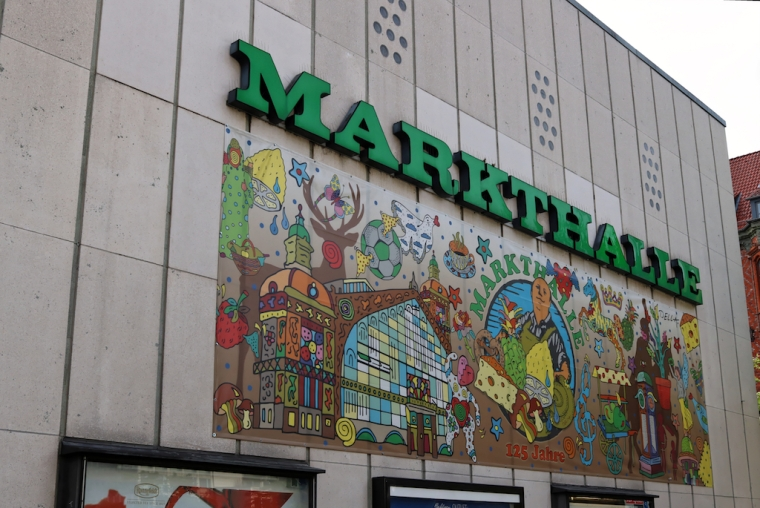 Die Markthalle in Hannover