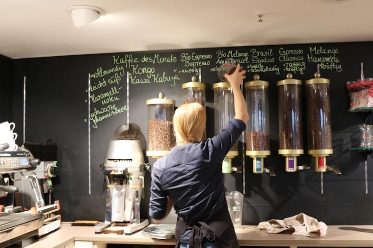 Die Kaffemanufaktur in Hannover