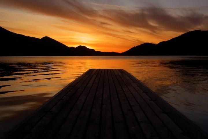 Fuschlsee Sonnenuntergang