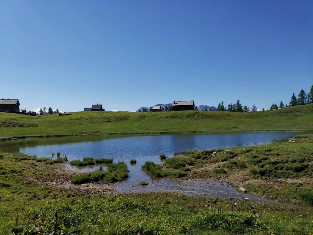 6-Seen-Wanderung auf der Tauplitzalm im Sommer - der Tauplitzsee