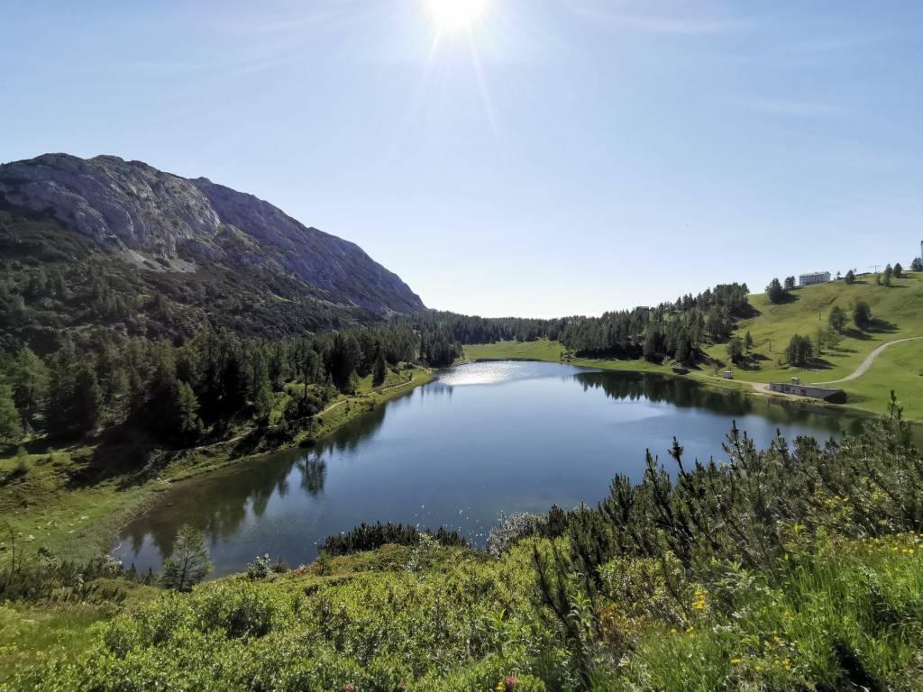 6-Seen-Wanderung auf der Tauplitzalm im Sommer - der Großsee