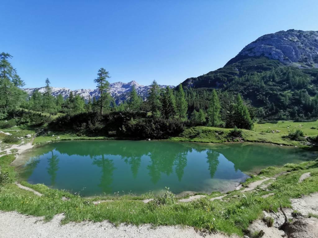 6-Seen-Wanderung auf der Tauplitzalm im Sommer - der Märchensee